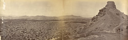 Panorama [of Kabul] from above Bala Burj.